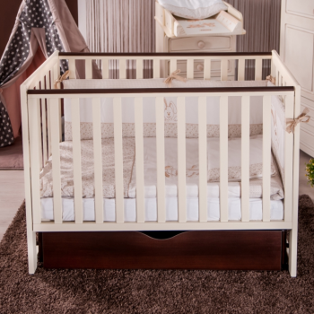 Кровать Twins Pinocchio L100-P-27 слоновая кость / орех, беж / коричневый