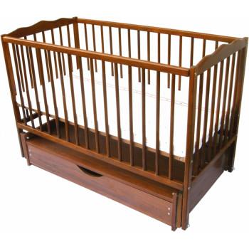Кровать Дубок Радуга с ящиком ток, оранжевый