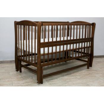Кровать Дубок Радуга / без ящика орех, коричневый