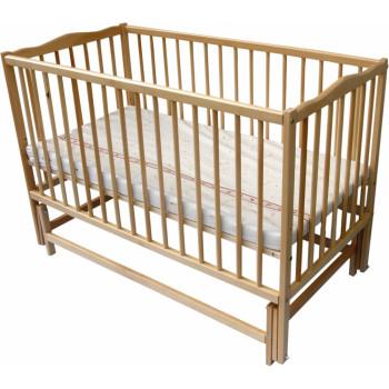 Кровать Дубок Радуга / без ящика натуральный, бежевый