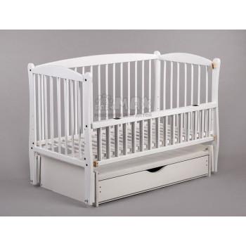 Кровать Дубок Элит 2 белый, белый
