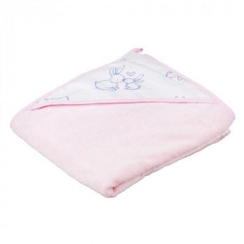 Полотенце Tega KR-008 Кролики 100х100 KR-008 80X80-104, pink, розовый