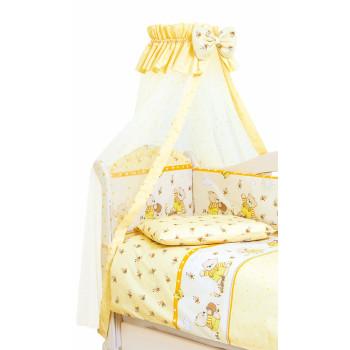 Балдахин Twins Comfort New 1051-C-110, Медун желтые, желтый