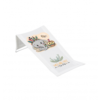Горка для купания 3D мембрана Tega DZ-026 Дикий запад DZ-026-103 Elephant, white / green, белый / зеленый