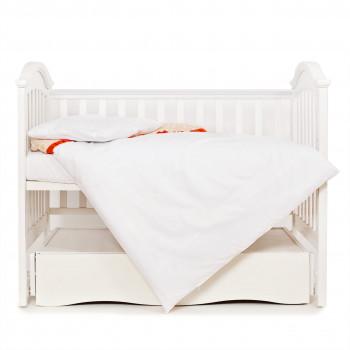 Сменная постель 3 эл Twins Premium Glamour 3028-PG-005, беж / оранж, бежевый