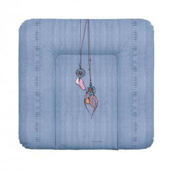 Пеленальный матрас Cebababy 85x72 Denim Style W-144-119-598, Dream Catcher, голубой