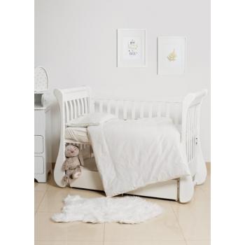 Сменная постель 3 эл Twins Evo Птичка 3080-E-001, Птички коричневые, бежевый