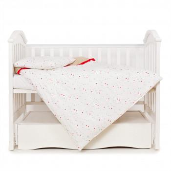 Сменная постель 3 эл Twins Premium Starlet 3028-P-021, Starlet beige, бежевый
