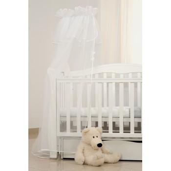 Балдахин Twins универсальный декор 1099-TS-01 white, белый