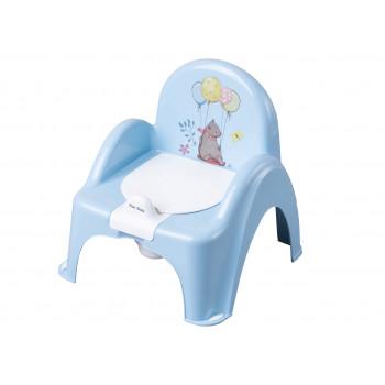 Горшок кресло Tega FF-007 Лесная сказка FF-007-108, light blue, свет голубой