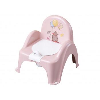 Горшок кресло Tega FF-007 Лесная сказка FF-007-107, light pink, светло розовый