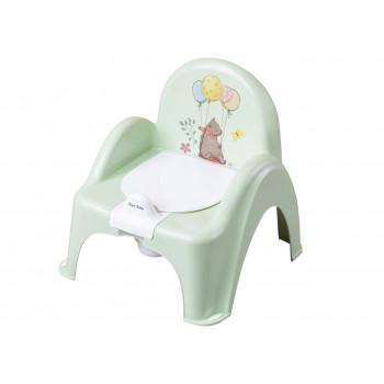 Горшок кресло Tega FF-007 Лесная сказка FF-007-112, light green, светло зеленый