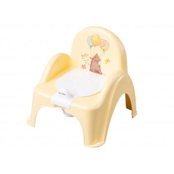 Горшок кресло Tega FF-007 Лесная сказка FF-007-109, yellow, желтый