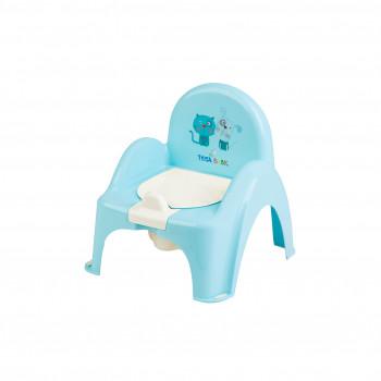 Горшок кресло Tega PK-007 Пес и Кот PK-007-101, light blue, голубой