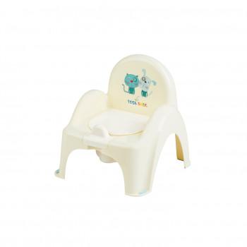 Горшок кресло Tega PK-007 Пес и Кот PK-007-102, yellow, желтый