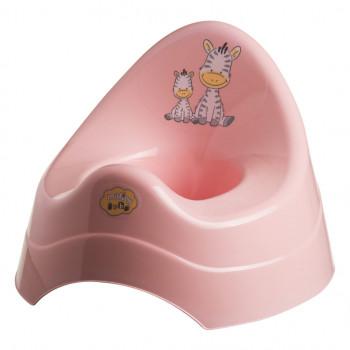 Горшок Maltex Zebra музыкальный 6555 pink, розовый