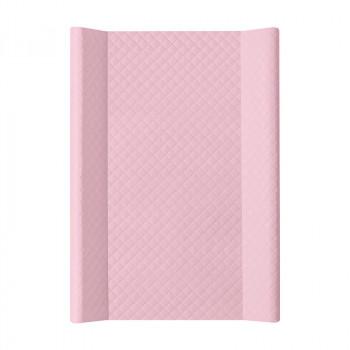 Пеленальная доска Cebababy 50x70 Caro W-200-079-129, pink nude, розовый дым