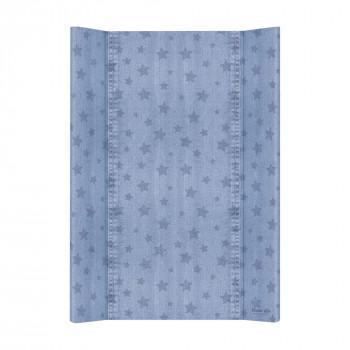 Пеленальная доска Cebababy 50x70 Denim Style W-200-119-587, Stars blue, голубой