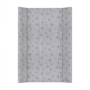 Пеленальная доска Cebababy 50x70 Denim Style W-200-119-588, Stars grey, серый