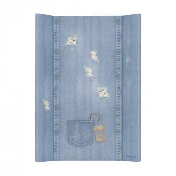 Пеленальная доска Cebababy 50x70 Denim Style W-200-119-589, Shabby, голубой