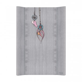 Повивальна дошка Cebababy 50x70 Denim Style W-200-119-599, Dream Catcher, сірий