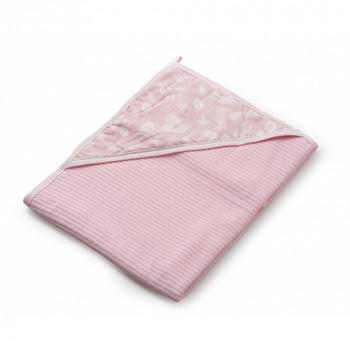 Полотенце Twins Soft 100х100 1500-TS-08 pink, розовый