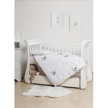 Сменная постель 3 эл Twins Dolce Summer day с вышивкой 3062-TD-100-02, beige, бежевый