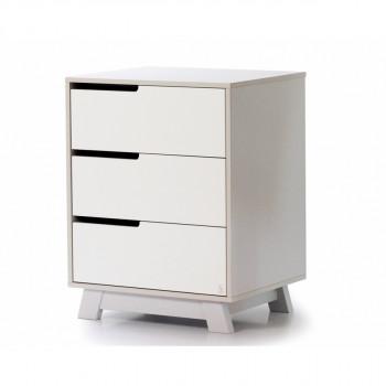 Комод Верес Манхэттен 600 32.2.32.2.17, бело / серый, белый / серый